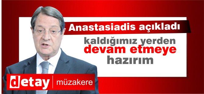 Anastasiadis'ten Federasyon çözümün zeminidir açıklaması!