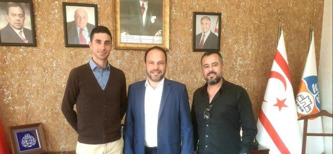 KTFF heyeti Sadıkoğlu'nu ziyaret etti!