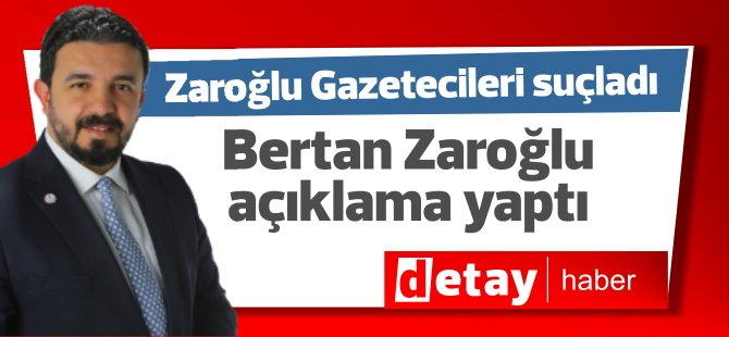 Zaroğlu, gazetecileri Kıbrıs Türk halkını kandırmaya çalışmakla suçladı (VİDEO)