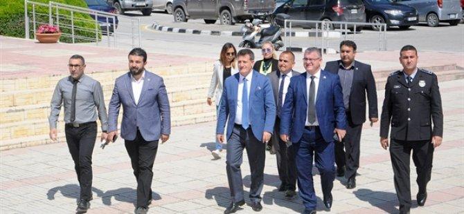 YDP'den Polis Genel Müdürü Manavoğlu'na ziyaret
