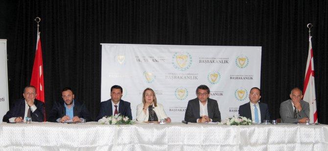 Başbakanlık Halkla Buluşma Toplantısı dün akşam Lefke'de yapıldı