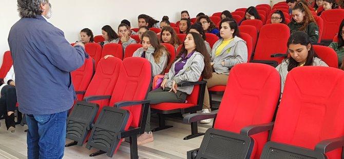 DAÜ-BTYO Gazimağusa Namik Kemal Lisesi öğrencileri ile buluştu