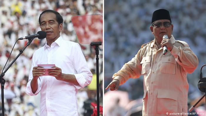 """Endonezya'da """"seçimi kim kazandı"""" tartışması"""