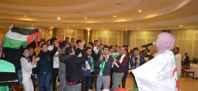 DAÜ'nün Cezayirli öğrencileri doyasıya eğlendi