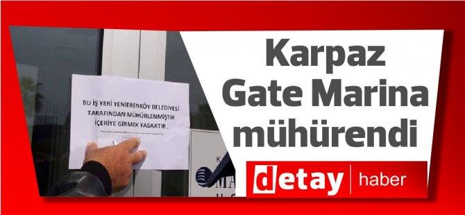 Karpaz Gate Marina  mühürendi