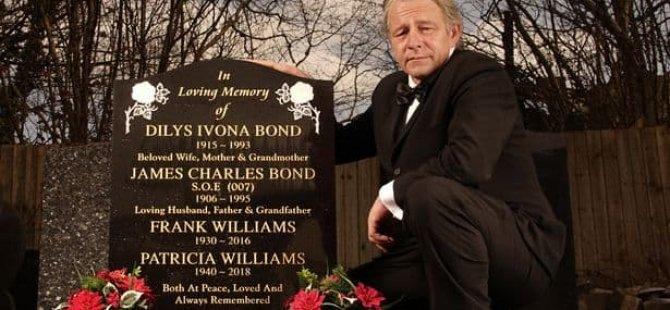 'Gerçek hayattaki James Bond'un mezar taşına '007' eklendi