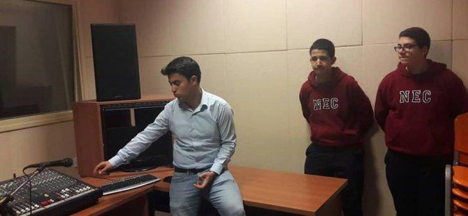 Yakın Doğu Koleji Öğrencileri İletişim Alanındaki Yeniliklerden Haberdar Oldular…