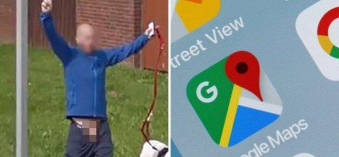 Google adamın yanlış yerini sansürledi