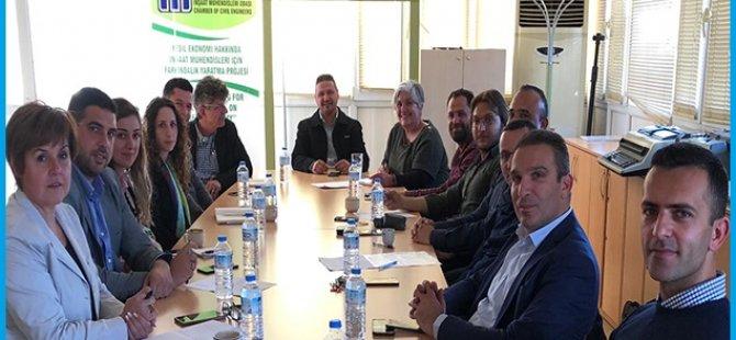 İnşaat Mühendisleri Odası Tüketim Ekonomisi Yerine Döngüsel Ekonomiye Geçiş İçin Uluslararası Konferans Düzenliyor.