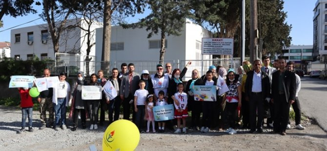 YDP Kadın Kolları, Lefkoşa'da çevre etkinliği düzenledi