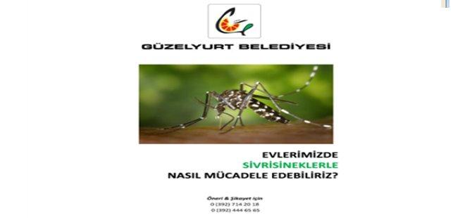"""""""Güzelyurt Belediyesi sivrisineklere karşı kapsamlı mücadele başalttı"""""""