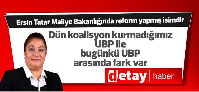 """Manavoğlu: """"Ersin Tatar Maliye Bakanlığı döneminde birçok reform yapmış isimdir."""""""