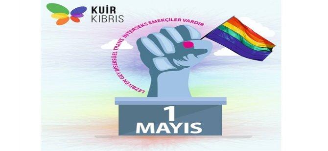 Kuir Kıbrıs Derneği de ara bölgedeki mitinge katılacak