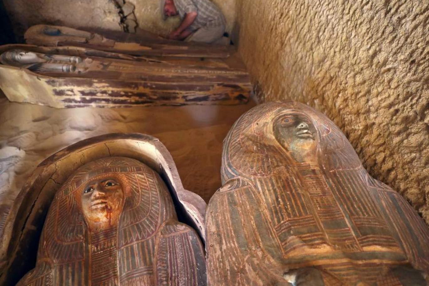 Mısır'da 4 bin 500 yıl öncesine ait antik mezar bulundu