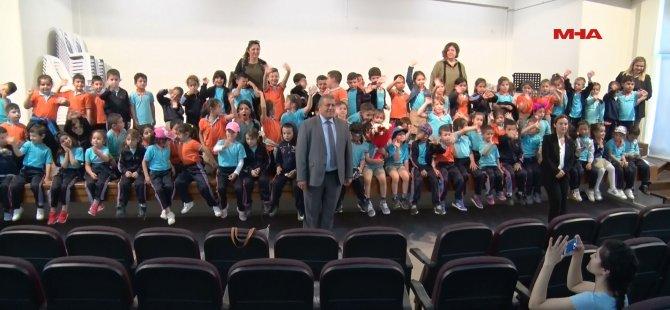 Polatpaşa İlkokulu öğrencileri gazimağusa belediyesi'ni ziyaret etti