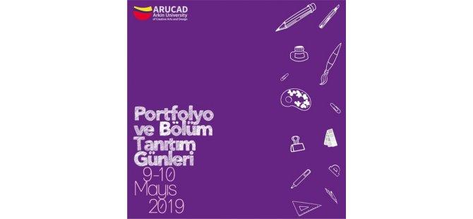 Arucad'da yetenek sınavına girecek öğrencilere portfolyo hazırlık günleri