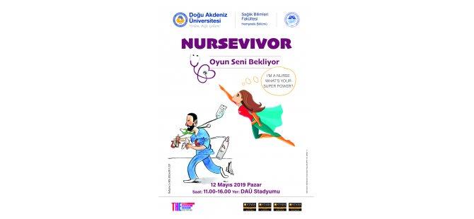 """DAÜ Hemşirelik Bölümü'nün düzenlediği """"Nursevıvor"""" başlıyor"""