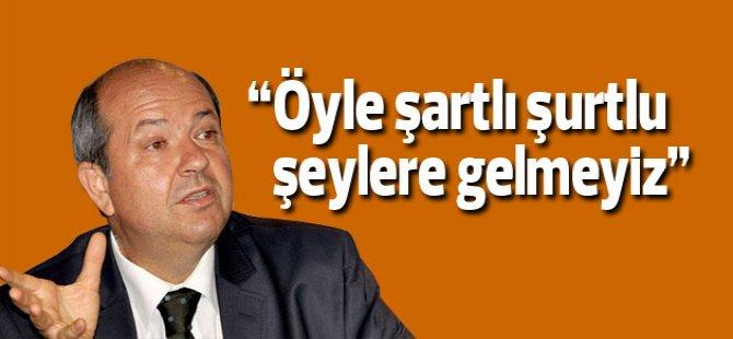 """Tatar: """"Hükümet modeli UBP-CTP veya UBP-HP şeklinde olabilir"""""""