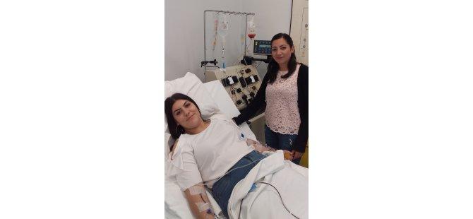Donör Süheyla Osmanoğlu'ndan, Almanya'daki hastaya ikinci kez uzanan yardım eli