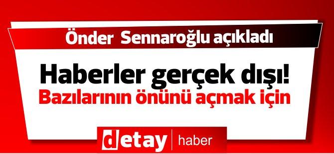 Sennaroğlu açıklama yaptı! haberler gerçek dışı dedi Tarım ile ilgili sorular sordu!