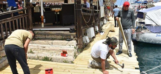 Girne Antik Liman'ın acil sorunları giderildi