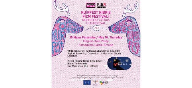 Kuirfest Film Festivali Bugün Gazimağusa'da