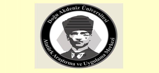 """DAÜ ATAUM'un """"19 mayıs milli mücadele'nin 100. Yıldönümü Etkinlikleri"""" devam ediyor"""