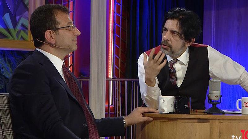"""İmamoğlu, Bayülgen'in """"Proje misiniz?"""" sorunu yanıtladı: Trabzon'un 40 haneli köyünde doğmuş Atatürk cumhuriyetinin bir projesiyim"""