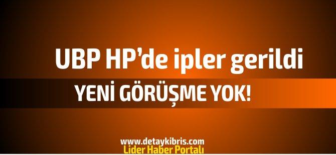 UBP-HP 'de yeni görüşme yok! Dairelerde ve kurumlarda paylaşım tartışması yaşanıyor!