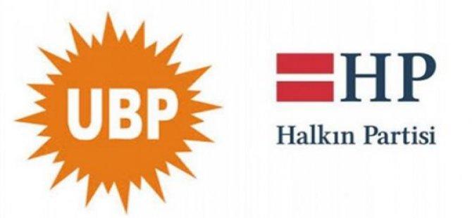 HP'den UBP'ye resmen EVET  kararı