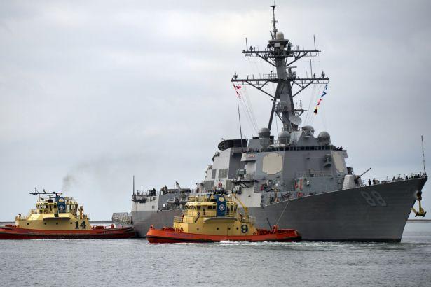 Güney Çin Denizi'nde provokasyon: ABD savaş gemisi gönderdi