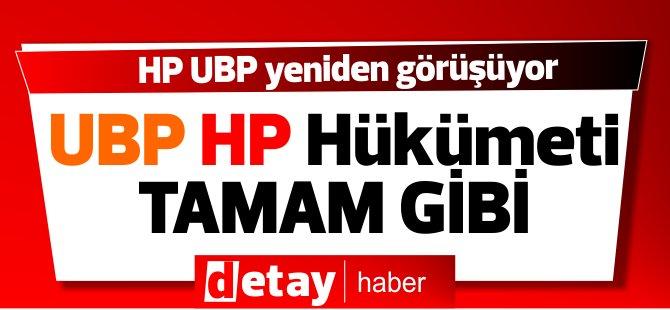 HP, UBP'yi ziyarete gitti... UBP-HP Koalisyonuna doğru