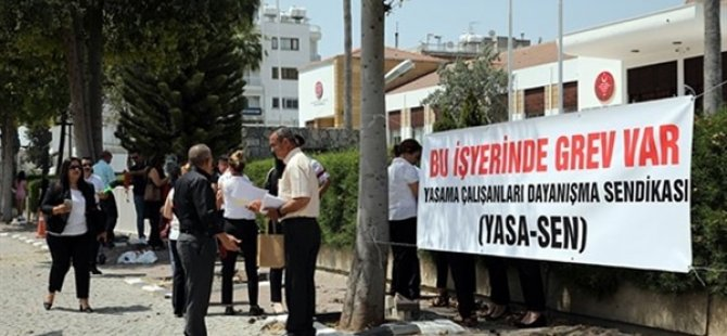 """Yasa-Sen: """"Meclis Başkanı'nın açıklamasının sendikamızın grev gerekçesiyle ilgisi yoktur"""""""