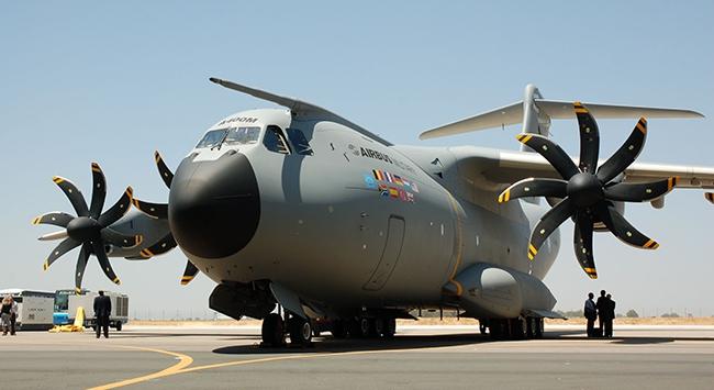 A400M askeri uçakğının ilk teslimatı yapıldı