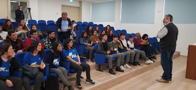 Erenköy Lisesi DAÜ BTYO'yu ziyaret etti
