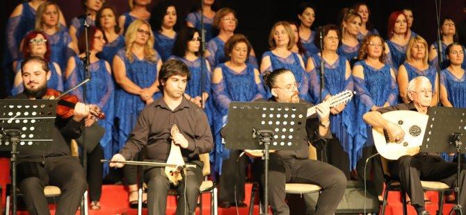 Gazimağusa Belediyesi Türkülerle Bahar Konseri  gerçekleşti