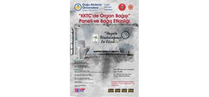 DAÜ'den organ bağışı ile ilgili panel ve etkinlik