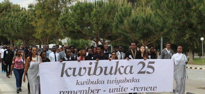 LAÜ'de Ruanda anma programı düzenledi
