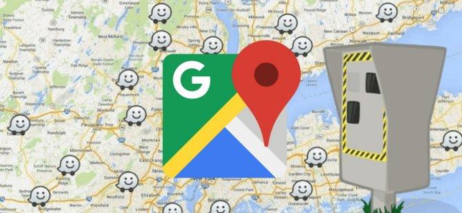 Google Haritalar artık trafik cezalarından kurtarıyor!