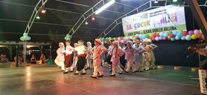 HASDER Çocuk Kulübü gösteri yaptı