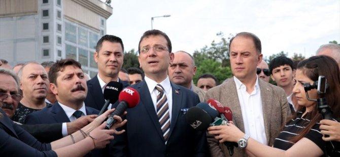 İmamoğlu'nun VIP'teki krize müdahale anları: Kurban olayım gel şuradan vatandaş gibi gidelim