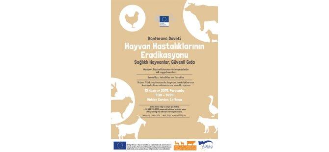 """""""Hayvan Hastalıklarının Eradikasyonu: Daha Sağlıklı Hayvanlar, Daha Güvenli Gıda"""" konulu konferans yarın..."""
