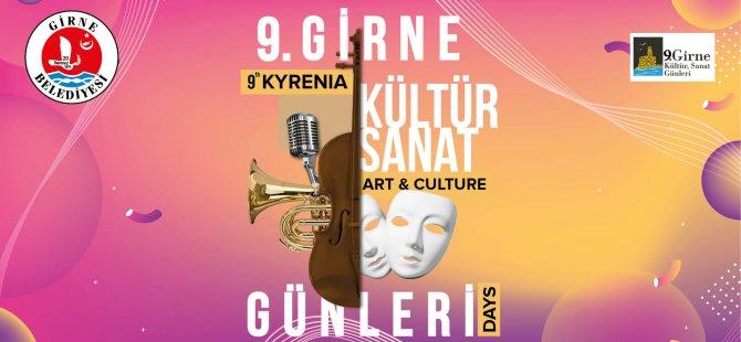 9. Girne Kültür Sanat Günleri programı açıklandı
