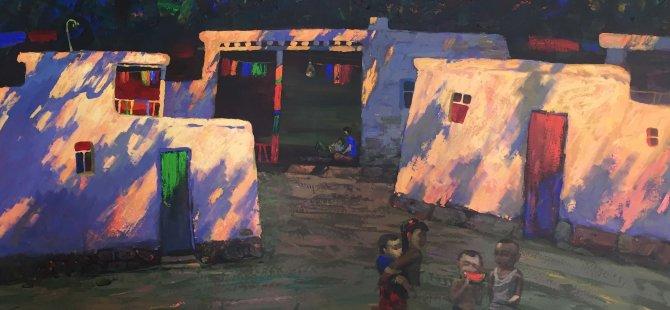 """""""Kırgızistan Sanatçıları Resim Sergisi"""" Tarım ve Doğal Kaynaklar Bakanı Dursun Oğuz tarafından açılacak."""