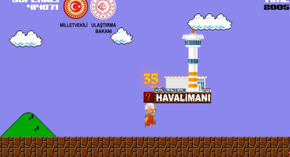AK Parti gençlik örgütü, Yıldırım için oyun videosu hazırladı: Süperali