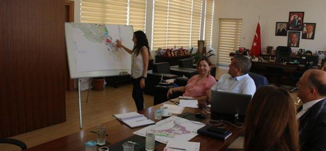 Gazimağusa Belediyesi'nde imar planı toplantısı