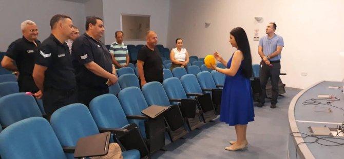DAÜ-PDRAM'ın  Merkezi Cezaevi çalışanlarına yönelik düzenlediği eğitim programı tamamlandı