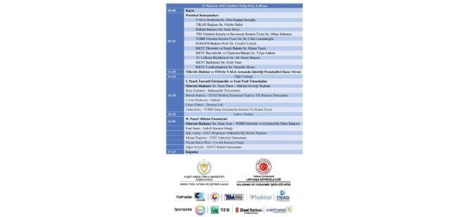 """III. KKTC Kobi Zirvesi """"KKTC'de İnovasyon ve Bilişim"""" temasıyla yarın yapılıyor"""