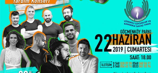 Kemal Saraçoğlu Lösemili Çocuklar ve Kanserle Savaş Vakfı çocuklarına yardım için konser
