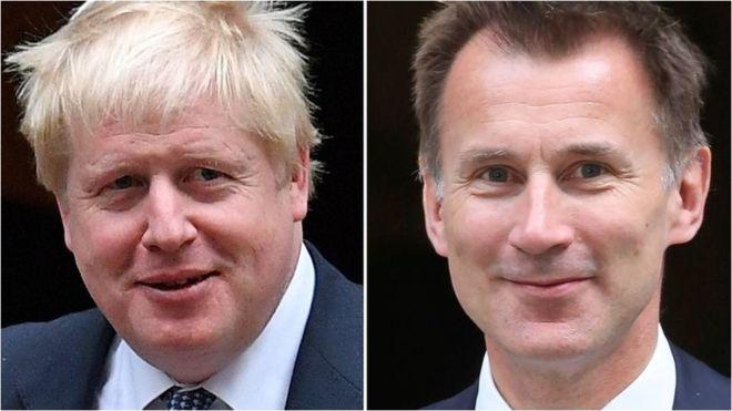 İngiltere'nin yeni başbakanı Boris Johnson ya da Jeremy Hunt olacak